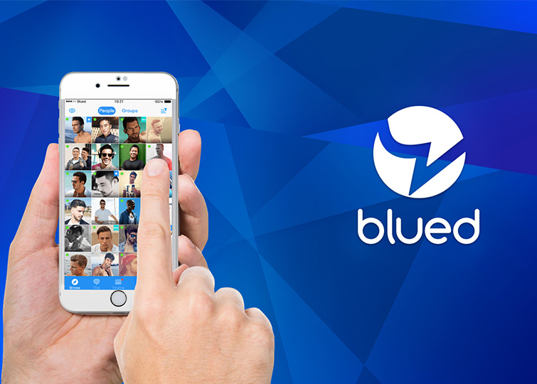 Blued dating app